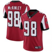 Wholesale Cheap Nike Falcons #98 Takkarist McKinley Red Team Color Men's Stitched NFL Vapor Untouchable Limited Jersey