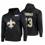 Wholesale Cheap New Orleans Saints #13 Michael Thomas Nike NFL 100 Primary Logo Circuit Name & Number Pullover Hoodie Black