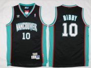 Wholesale Cheap Men's Memphis Grizzlies #10 Mike Bibby Black Hardwood Classics Soul Swingman Throwback Jersey