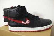 Wholesale Cheap Air Jordan 1 Retro Shoes Black/red-white