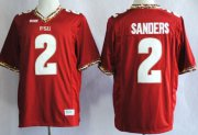 Wholesale Cheap Florida State Seminoles #2 Deion Sanders 2013 Red Jersey
