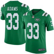 Wholesale Cheap Nike Jets #33 Jamal Adams Green Youth Stitched NFL Limited Rush Jersey