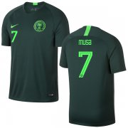 Wholesale Cheap Nigeria #7 Musa Away Soccer Country Jersey