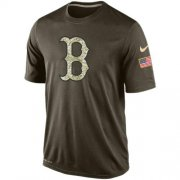 Wholesale Men's Boston Red Sox Salute To Service Nike Dri-FIT T-Shirt