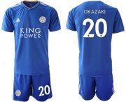 Wholesale Cheap Leicester City #20 Okazaki Home Soccer Club Jersey
