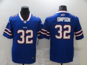 Wholesale Cheap Men's Buffalo Bills #32 O. J. Simpson Royal Blue 2020 Vapor Untouchable Stitched NFL Nike Limited Jersey