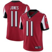 Wholesale Cheap Nike Falcons #11 Julio Jones Red Team Color Youth Stitched NFL Vapor Untouchable Limited Jersey