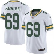Wholesale Cheap Nike Packers #69 David Bakhtiari White Men's Stitched NFL Vapor Untouchable Limited Jersey