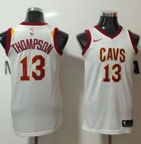 Wholesale Cheap Nike Cleveland Cavaliers #13 Tristan Thompson White NBA Swingman Association Edition Jersey