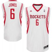 Wholesale Cheap Houston Rockets #6 Terrence Jones White Swingman Jersey