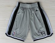 Wholesale Cheap San Antonio Spurs Gray Short