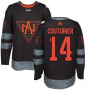 Wholesale Cheap Team North America #14 Sean Couturier Black 2016 World Cup Stitched NHL Jersey