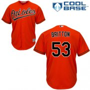 Wholesale Cheap Orioles #53 Zach Britton Orange Cool Base Stitched Youth MLB Jersey