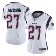 Wholesale Cheap Women's New England Patriots #27 J.C. Jackson Limited Vapor Untouchable White Jersey