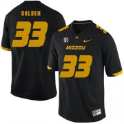 Wholesale Cheap Missouri Tigers 33 Markus Golden III Black Nike College Football Jersey