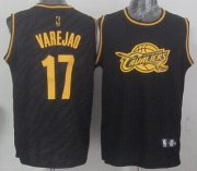 Wholesale Cheap Cleveland Cavaliers #17 Anderson Varejao Revolution 30 Swingman 2014 Black With Gold Jersey