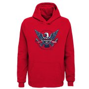 Wholesale Cheap Washington Nationals Majestic Youth 2019 World Series Champions Neighborhood Play Pullover Hoodie Red