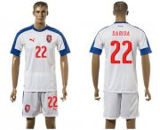 Wholesale Cheap Czech #22 Darida Away Soccer Country Jersey
