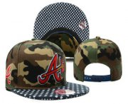 Wholesale Cheap MLB Atlanta Braves Snapback Ajustable Cap Hat YD 7