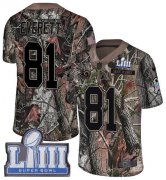 Wholesale Cheap Nike Rams #81 Gerald Everett Camo Super Bowl LIII Bound Men's Stitched NFL Limited Rush Realtree Jersey