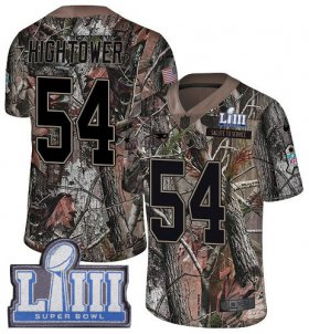Wholesale Cheap Nike Patriots #54 Dont\'a Hightower Camo Super Bowl LIII Bound Men\'s Stitched NFL Limited Rush Realtree Jersey
