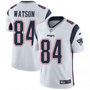 Wholesale Cheap Nike Patriots #84 Benjamin Watson White Men's Stitched NFL Vapor Untouchable Limited Jersey