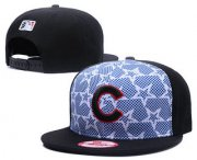 Wholesale Cheap MLB Chicago Cubs Snapback Ajustable Cap Hat GS 7