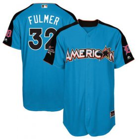 Wholesale Cheap Tigers #32 Michael Fulmer Blue 2017 All-Star American League Stitched Youth MLB Jersey