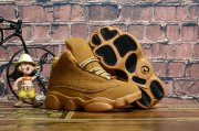 Wholesale Cheap Kids' Air Jordan 13 Retro Shoes Wheat/Tan