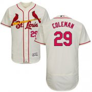 Wholesale Cheap Cardinals #29 Vince Coleman Cream Flexbase Authentic Collection Stitched MLB Jersey
