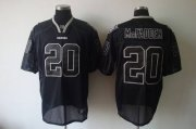 Wholesale Cheap Raiders #20 Darren McFadden Lights Out Black Stitched NFL Jersey