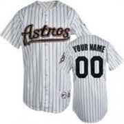 Wholesale Cheap Astros Personalized Authentic White MLB Jersey (S-3XL)