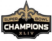 Wholesale Cheap Stitched New Orleans Saints Super Bowl XLIV Jersey Patch