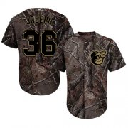 Wholesale Cheap Orioles #36 Caleb Joseph Camo Realtree Collection Cool Base Stitched MLB Jersey