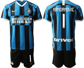 Wholesale Cheap Inter Milan #1 Handanovic Home Soccer Club Jersey