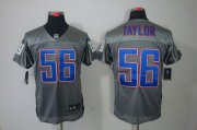 Wholesale Cheap Nike Giants #56 Lawrence Taylor Grey Shadow Men's Stitched NFL Elite Jersey