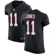 Wholesale Cheap Nike Falcons #11 Julio Jones Black Alternate Men's Stitched NFL Vapor Untouchable Elite Jersey