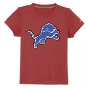 Wholesale Cheap Detroit Lions Sideline Legend Authentic Logo Youth T-Shirt Red