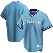 Wholesale Cheap Kansas City Royals Nike Road Cooperstown Collection Team MLB Jersey Light Blue