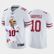 Cheap San Francisco 49ers #10 Jimmy Garoppolo Nike Team Hero 3 Vapor Limited NFL 100 Jersey White