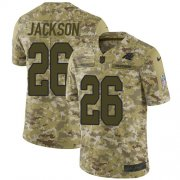 Wholesale Cheap Nike Panthers #26 Donte Jackson Camo Men's Stitched NFL Limited 2018 Salute To Service Jersey