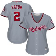 Wholesale Cheap Nationals #30 Koda Glover White/Pink Fashion Women's Stitched MLB Jersey