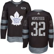 Wholesale Cheap Adidas Maple Leafs #32 Kris Versteeg Black 1917-2017 100th Anniversary Stitched NHL Jersey