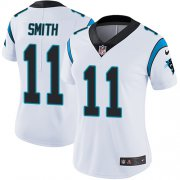Wholesale Cheap Nike Panthers #11 Torrey Smith White Women's Stitched NFL Vapor Untouchable Limited Jersey