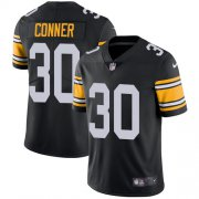 Wholesale Cheap Nike Steelers #30 James Conner Black Alternate Youth Stitched NFL Vapor Untouchable Limited Jersey