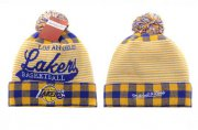 Wholesale Cheap Los Angeles Lakers Beanies YD005