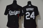 Wholesale Cheap Los Angeles Dodgers #8 #24 Kobe Bryant Youth Nike Black Cool Base 2020 KB Patch MLB Jersey