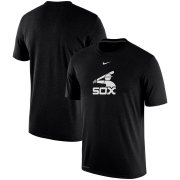 Wholesale Cheap Chicago White Sox Nike Batting Practice Logo Legend Performance T-Shirt Black