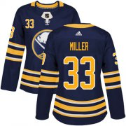Wholesale Cheap Adidas Sabres #33 Colin Miller Navy Blue Home Authentic Women's Stitched NHL Jersey