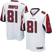 Wholesale Cheap Nike Falcons #81 Austin Hooper White Youth Stitched NFL Elite Jersey